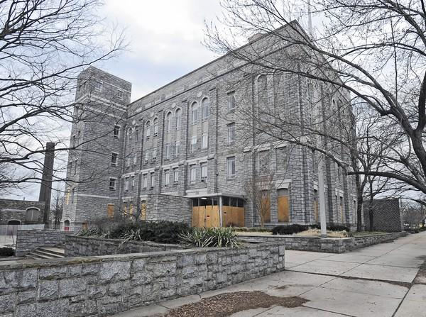 Saint Agnes Hospital is negotiating wtih the Archdiocese of Baltimore to purchase the historical Cardinal Gibbons property, above, which is across the street from the hospital.