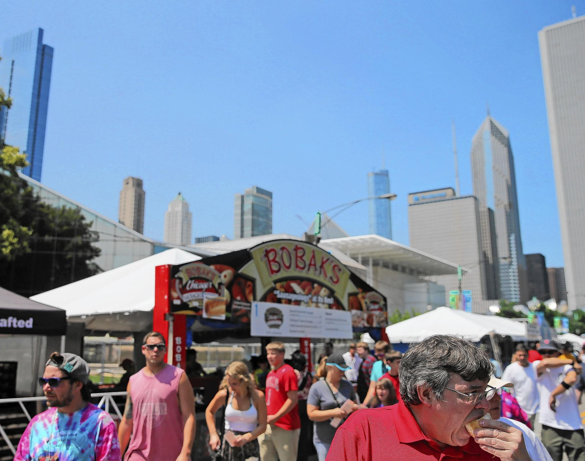 Bobak's will be among the 64 vendors at Taste of Chicago, which runs July 9-13 in Grant Park.