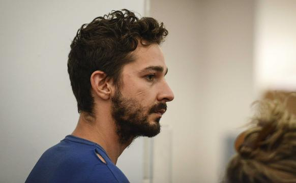 """Shia LaBeouf reportedly yelled, """"Do you know who the f--- I am?"""" as he was being taken away in handcuffs during a performance of """"Cabaret"""" in New York."""