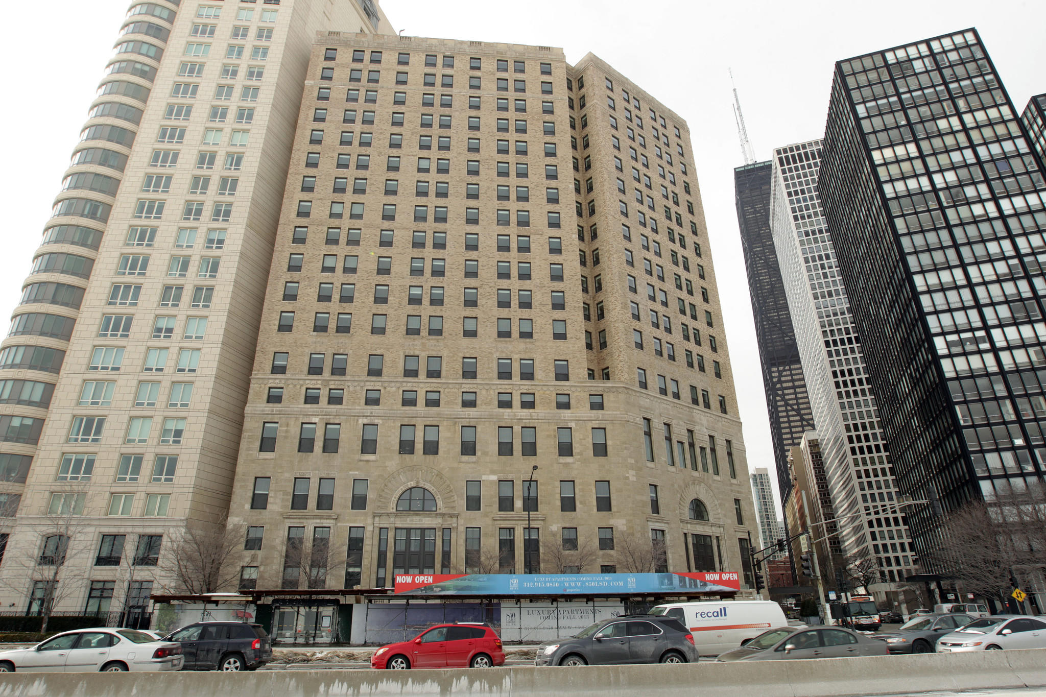 The former Lake Shore Athletic Club, now luxury apartments.