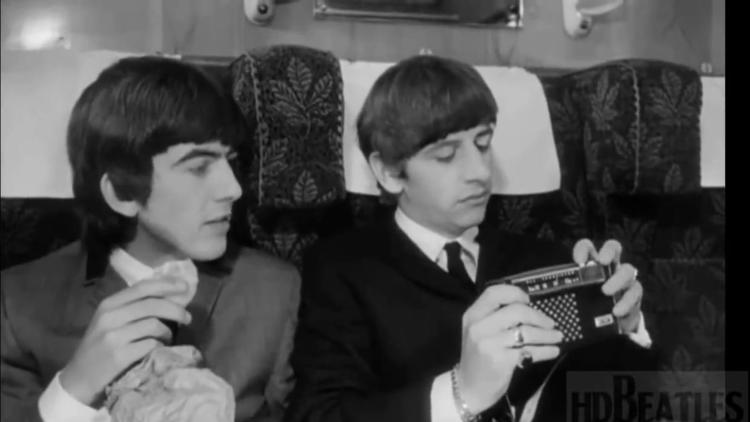 The Beatles in 'A Hard Day's Night'