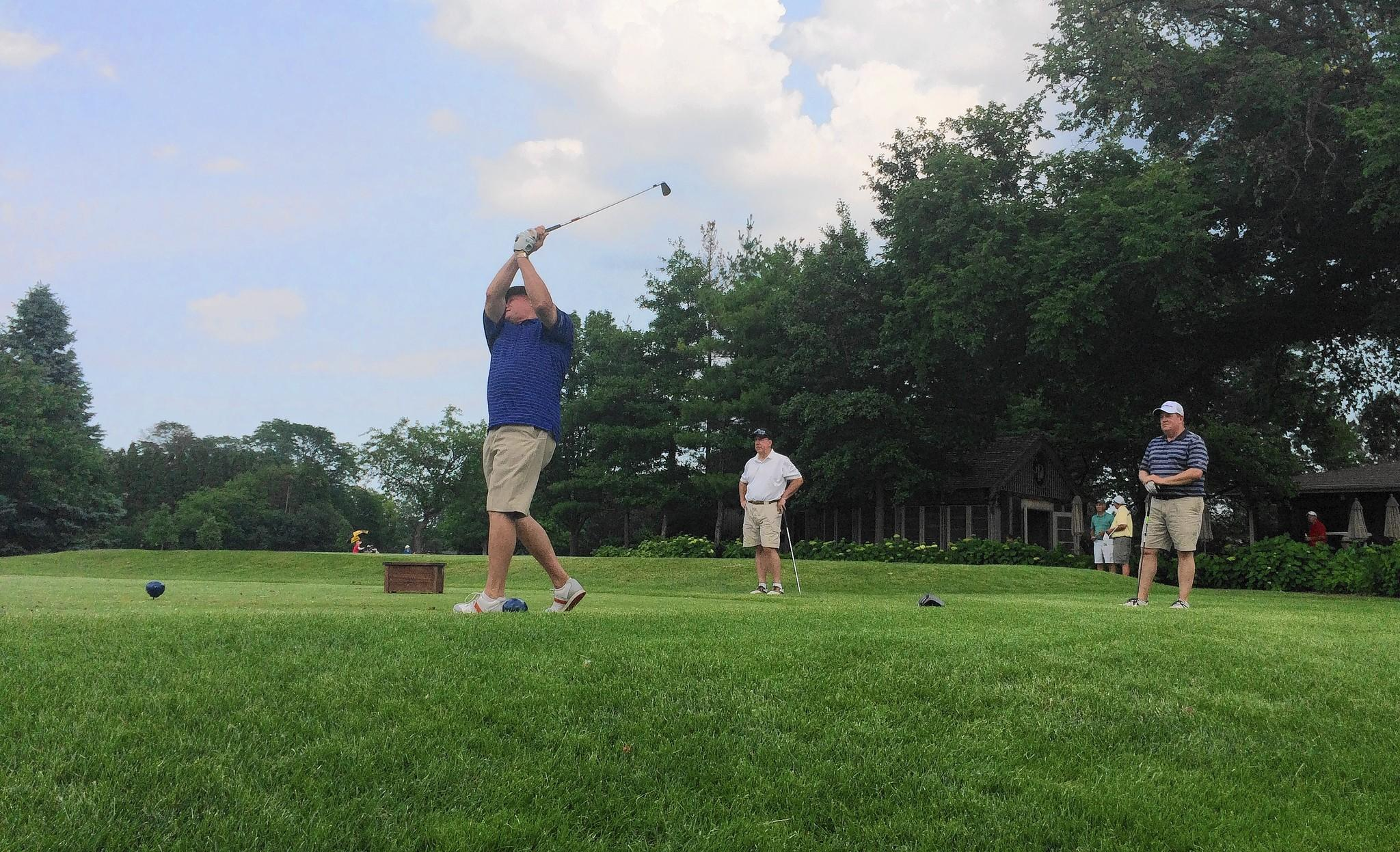 Local residents enjoy playing golf at the Glenview Park Golf Club on Friday, June 27, before the course closes down for a year-long renovation on July 7.
