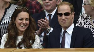 Prince William, Duchess Catherine give it their all at Wimbledon
