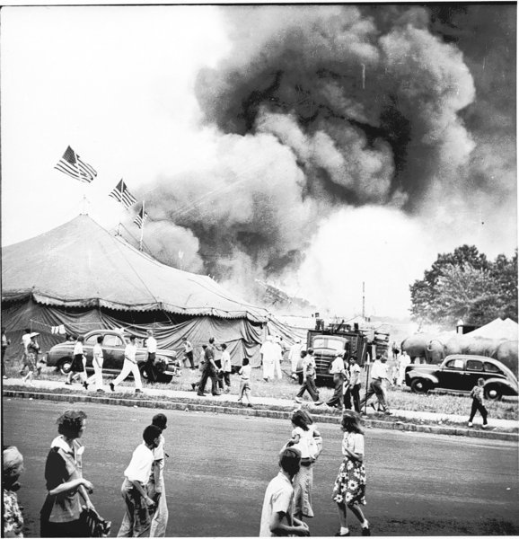 Hartford Circus Fire, July 6, 1944, day of panic and heroes. - Hartford Courant