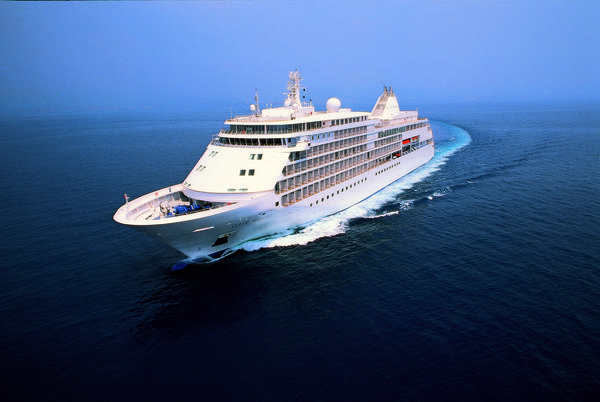 "The all-suite Silver Whisper cruise ship will sail on a 115-day ""Venetian World Odyssey 2016"" cruise from Fort Lauderdale to Venice, Italy, departing Jan. 5, 2016."