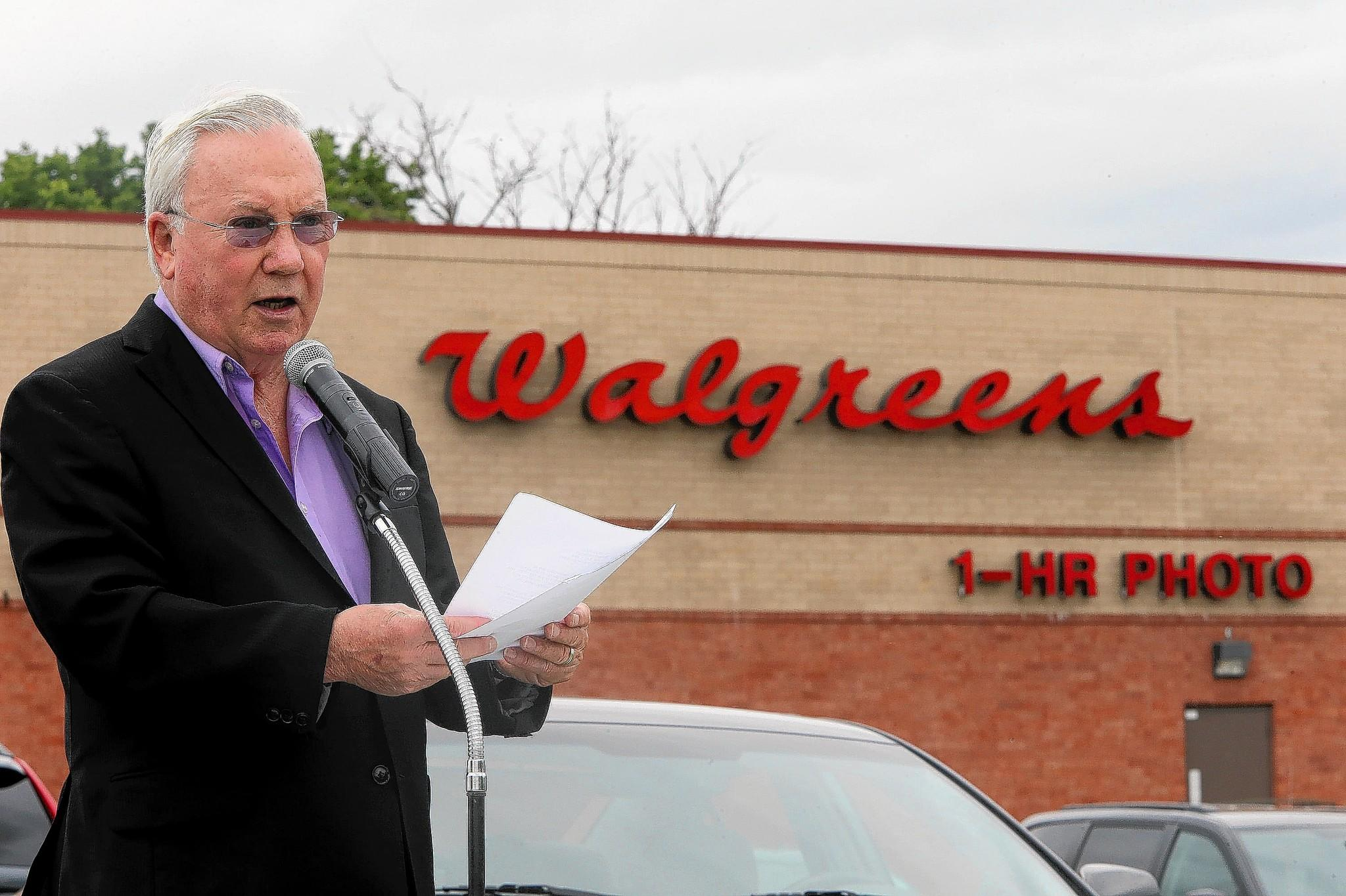 Dixon Mayor Jim Burke said it would be an affront to the late Charles Walgreen if the company moved its headquarters abroad for tax-relief purposes.