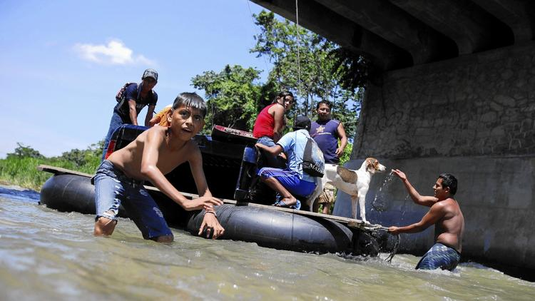 Exodus of youth migrants from Central America