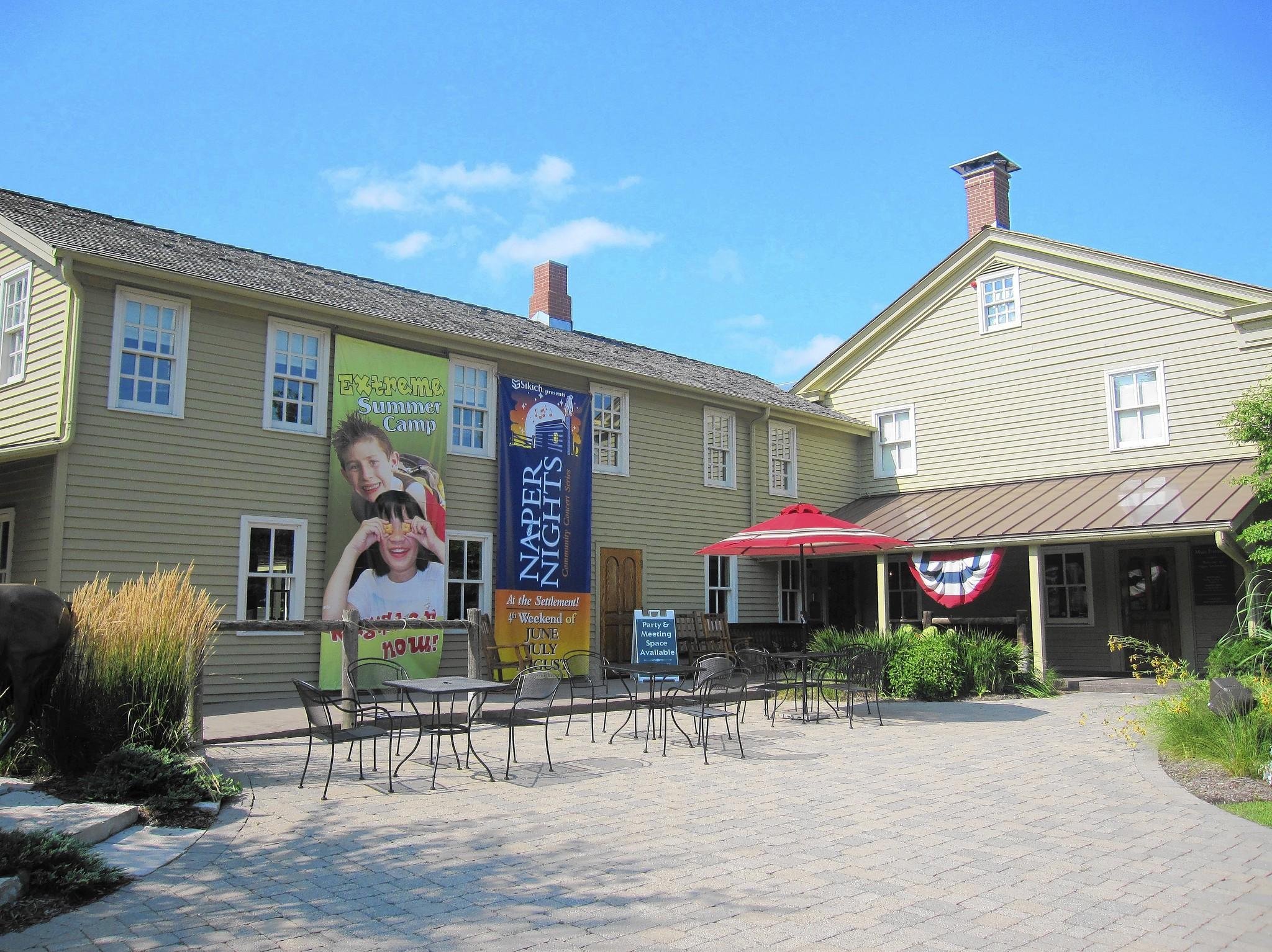 Naper Settelment living history museum plans to create an agricultural interpretive center.