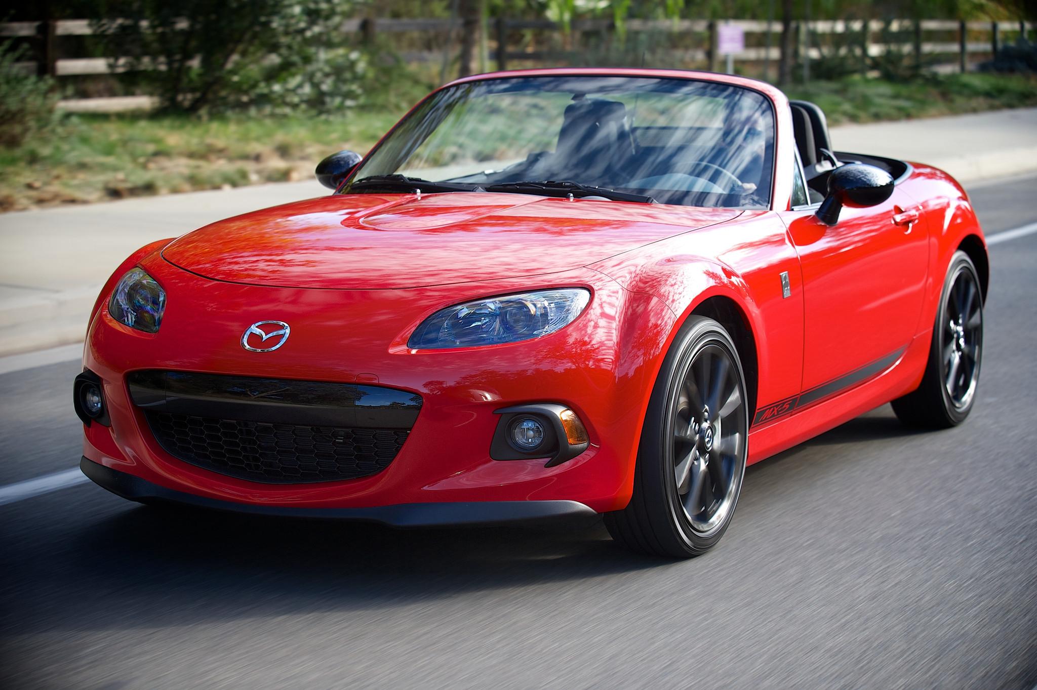 Mazda will launch fourth generation mx 5 miata roadster in september la times