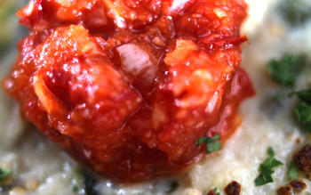 Hot red pepper relish