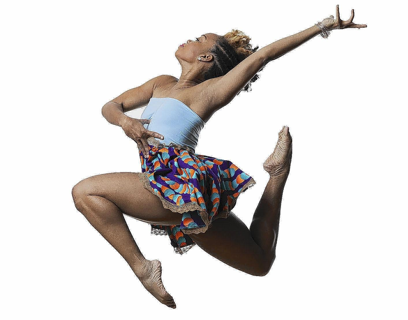 Camille A. Brown & Dancers perform at Wesleyan on July 11.