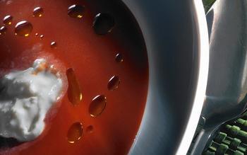 Zuppa di pomodoro fresco (fresh tomato soup)