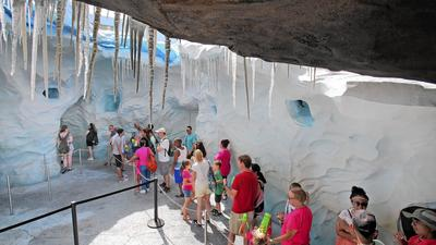 Theme parks get creative to help visitors beat heat