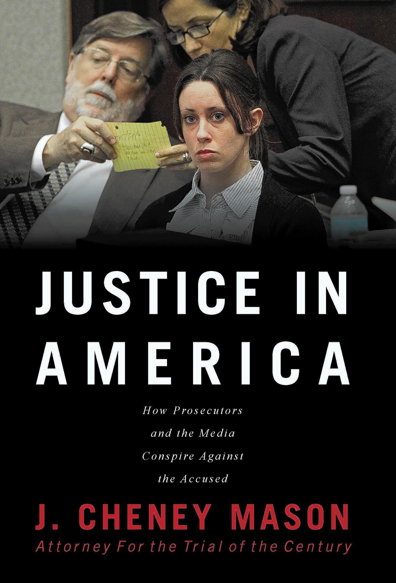 J. Cheney Mason's new book on Casey Anthony.