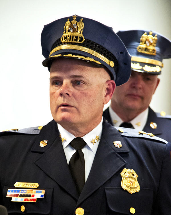 Baltimore County Police Chief James W. Johnson