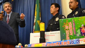 Related story: Authorities seize a ton of illegal fireworks before Fourth of July