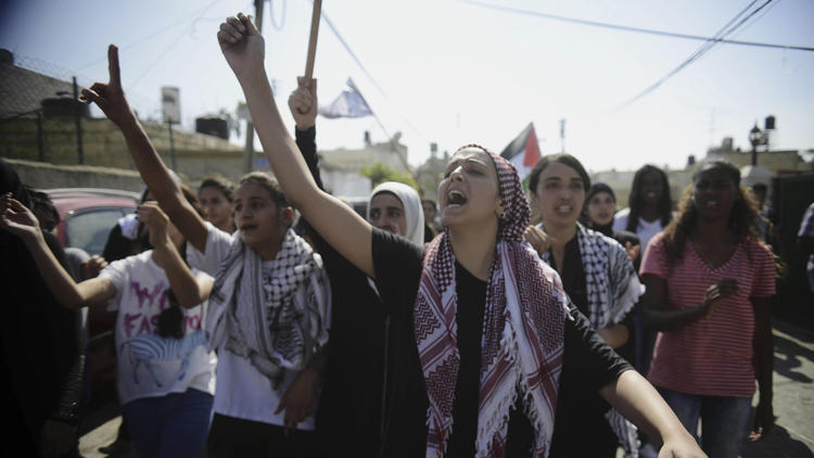 Palestinian funeral