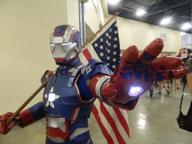 Hundreds of people gathered in Miami Beach dressed up as their favorite character from animes, cartoons, comic book, movies, video games and TV series for the Florida Supercon.