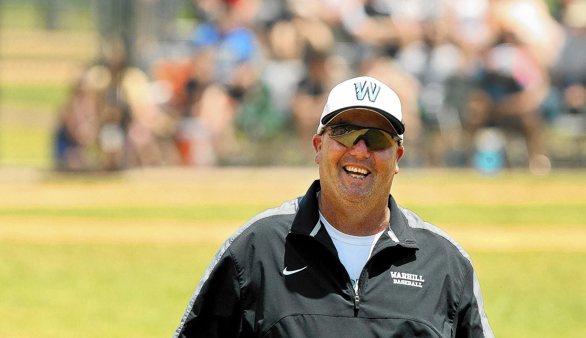 Joe Henzel's last game in five years as Warhill's baseball coach was a tournament loss to Lafayette, where he coached the previous 11 years.