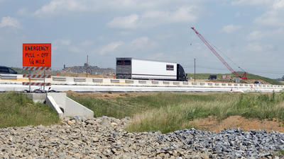Chrin interchange on Route 33 on track for November completion