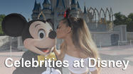 Pictures: Star sightings: Which celebrities were spotted at Disney?