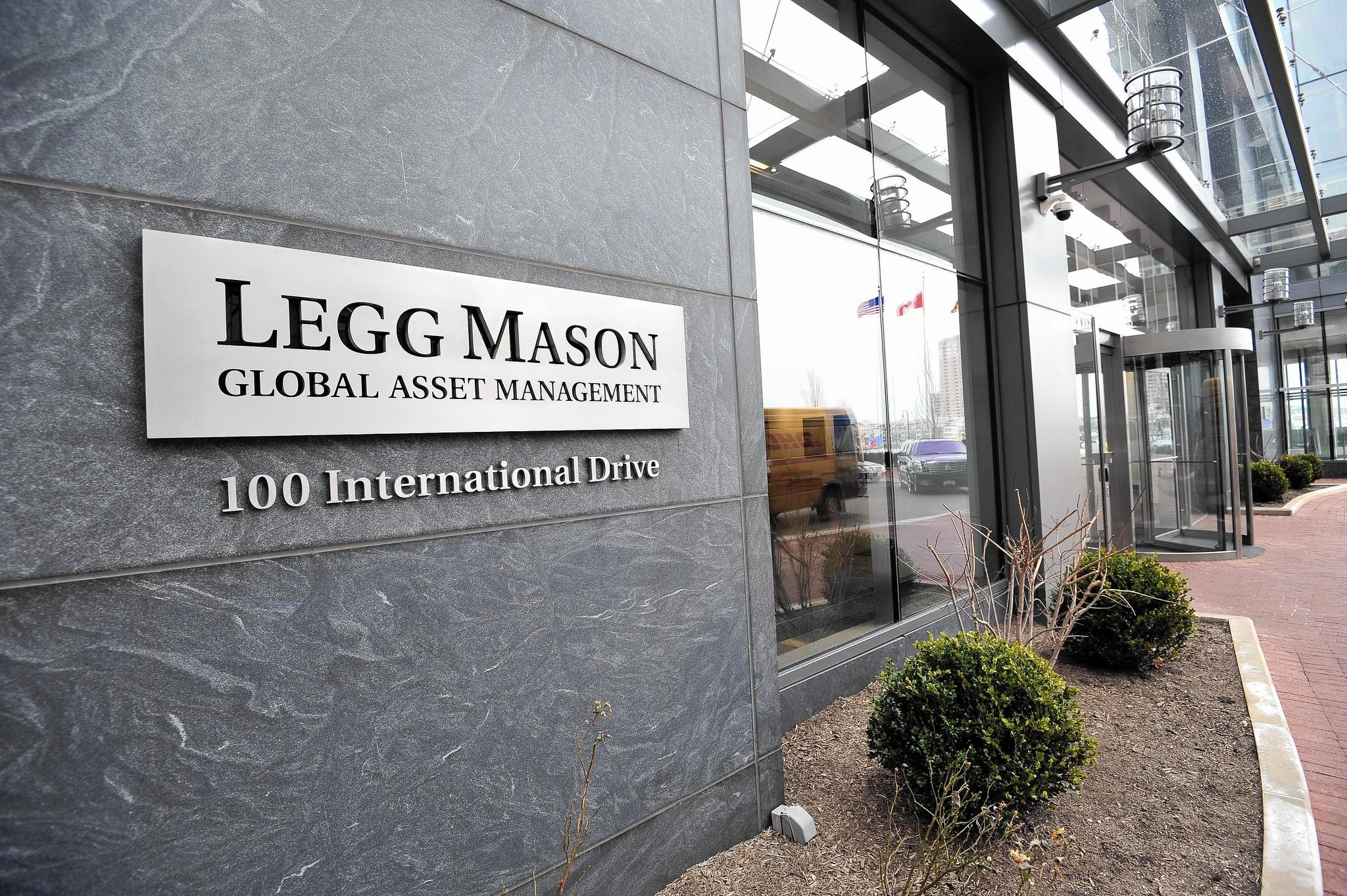 Legg Mason headquarters at 100 International Drive in Harbor East.