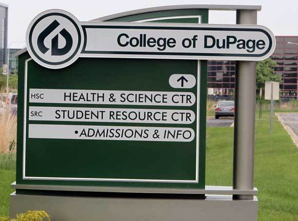 The College of DuPage in May 2011.