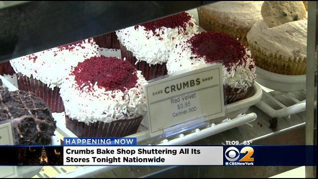 Video: Cupcake empire collapses, 'Crumbs' closes all of its stores