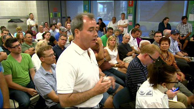 Video: Wrigley neighbors speak out at meeting