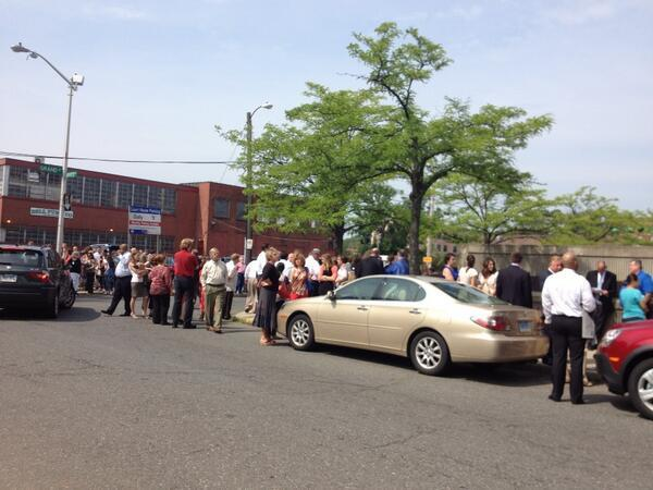 Hartford criminal courthouse was evacuated Tuesday morning.