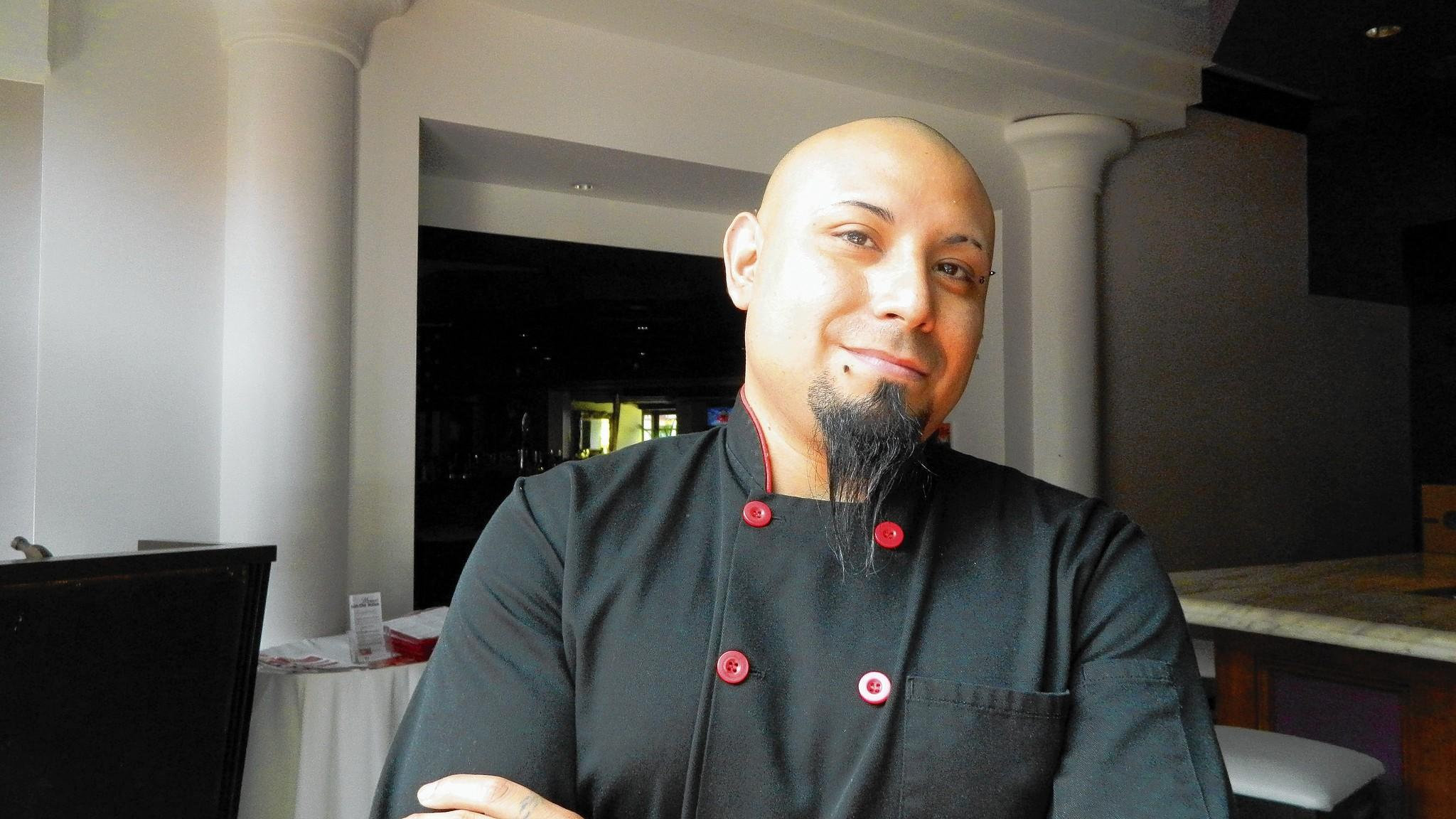 Gerardo Gonzales, executive chef of Fells Point restaurants Tapas Adela and Anastasia.