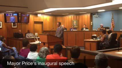 Video: Mayor Price's inaugural speech