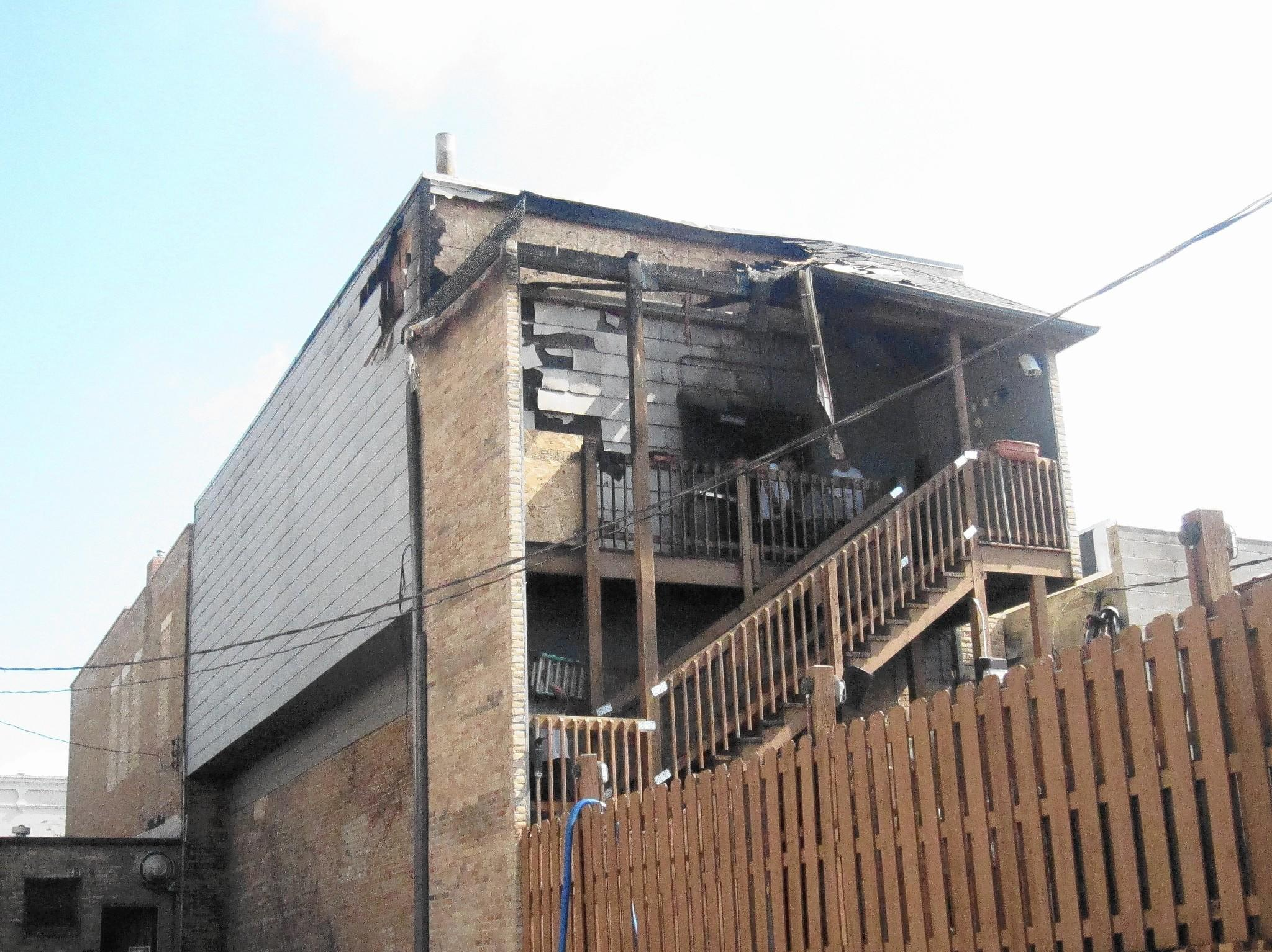 A fire caused $200,000 in damage at Rizzos restaurant in downtown Naperville.