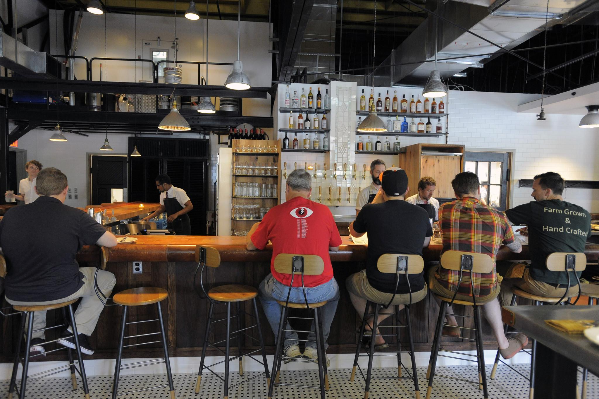 The bar at Parts