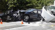 Pictures: Multi-vehicle crash on I-64 east in New Kent