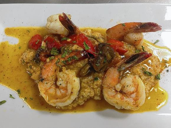 Shrimp with grits for Craft 260 fairfield ct
