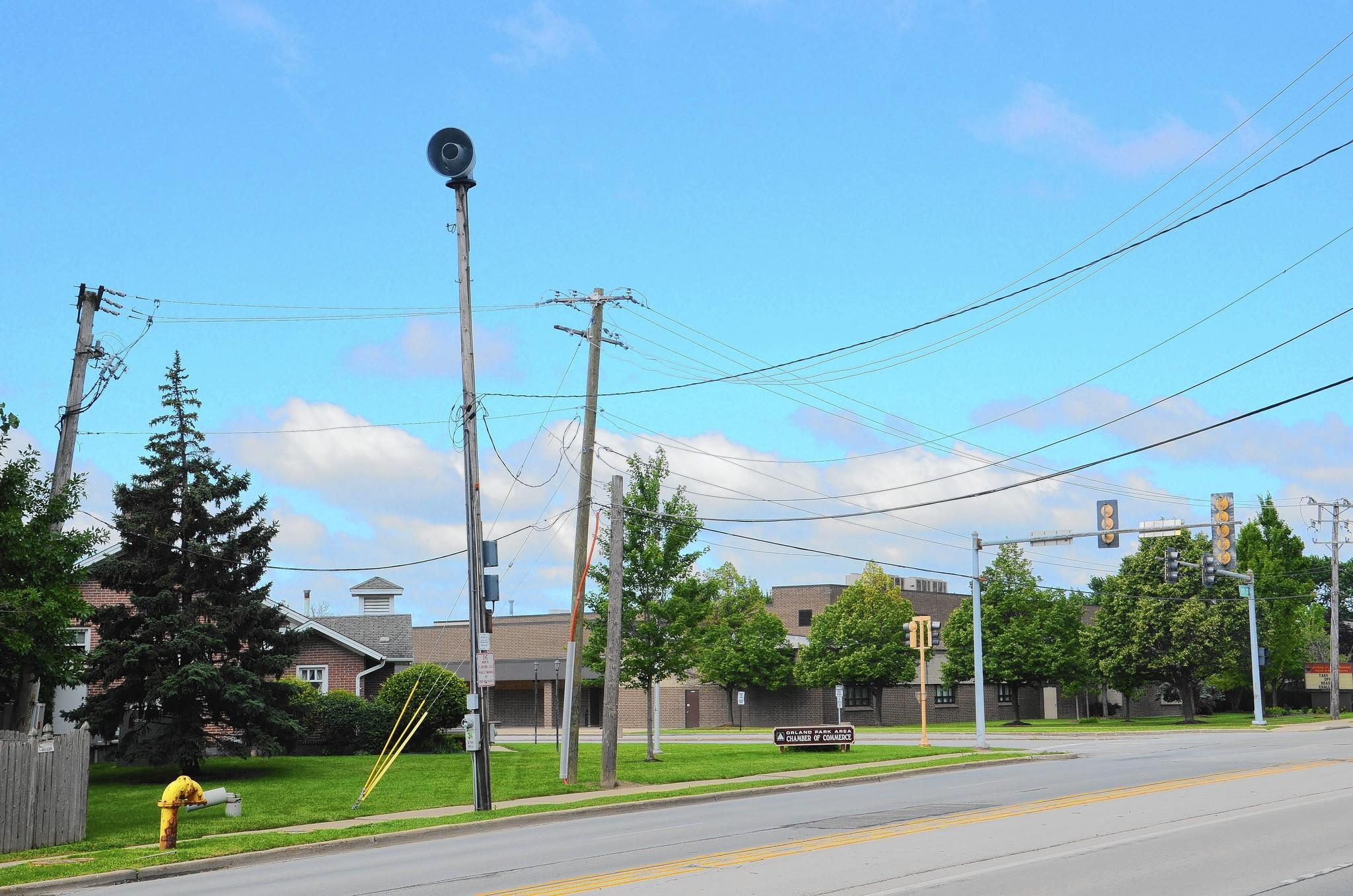 Some residents questioned why the village didn't sound its tornado sirens during last week's storm, police and village officials said.