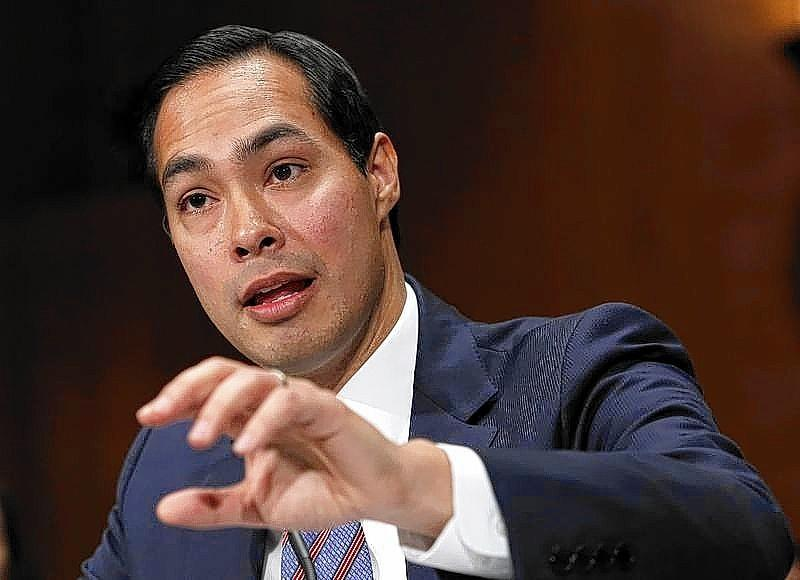 The U.S. Senate on Wednesday confirmed Julian Castro to lead the Department of Housing and Urban Development.
