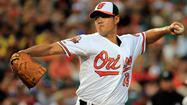 Wei-Yin Chen available out of the bullpen in tonight's game vs. the Nationals