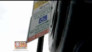Cars with disability placards will pay to park under new city policy [WJZ Video]