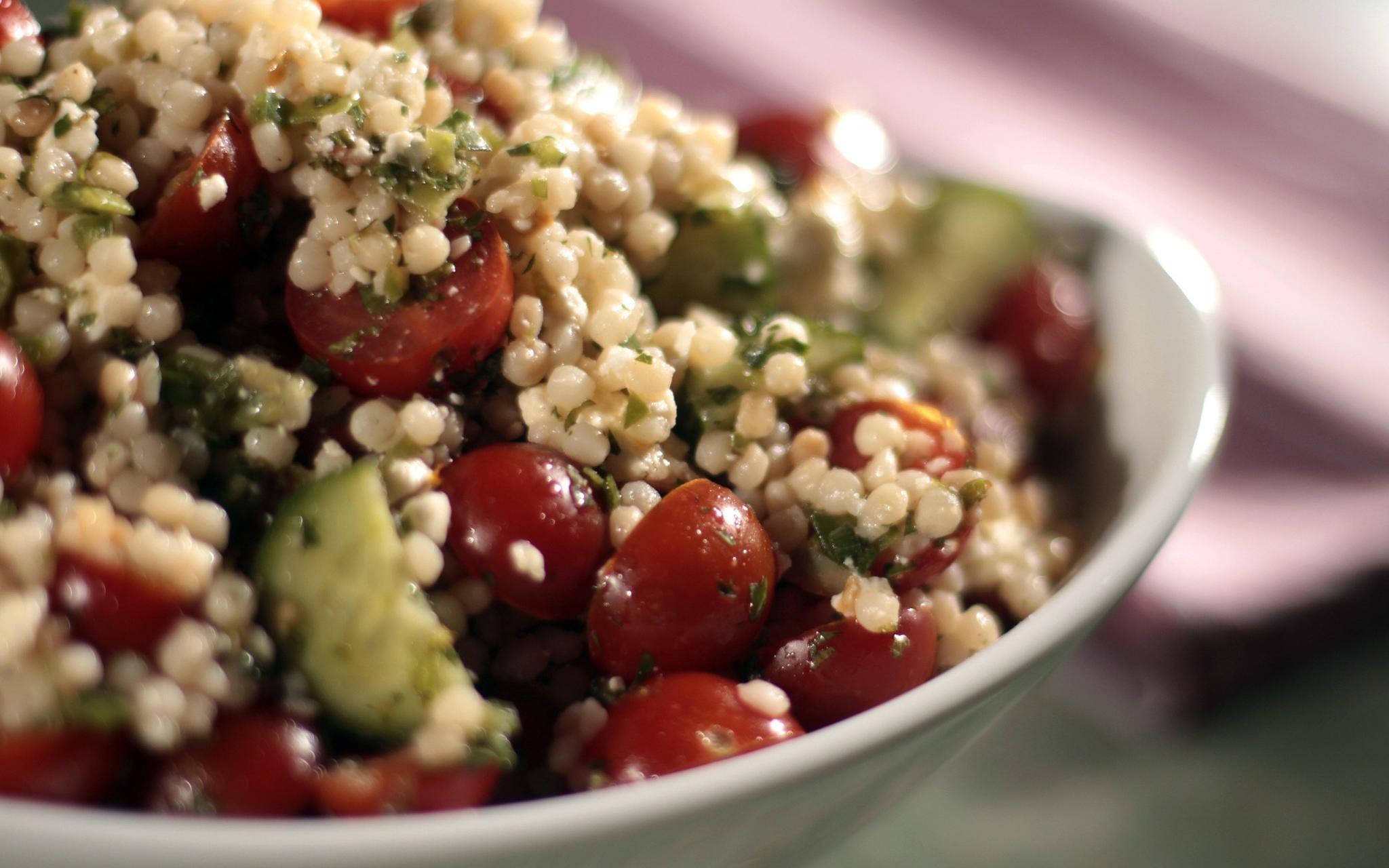 Israeli Couscous And California Avocado Salad Recipes — Dishmaps