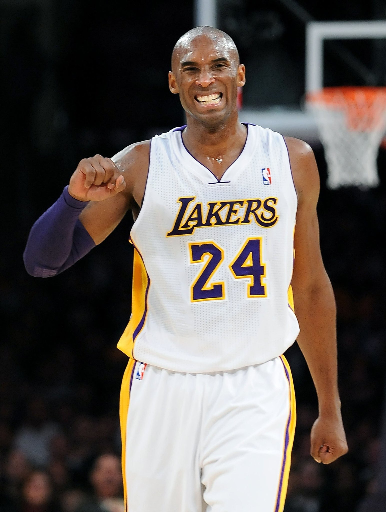 ybizjs Kobe Bryant AUTHENTIC Jersey 24 Los Angeles Lakers PURPLE [890214