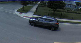 Evanston police are asking for the public's help in identifying this sport-utility vehicle, which they believe was used in a shooting Tuesday in the 2000 block of Dodge Avenue.
