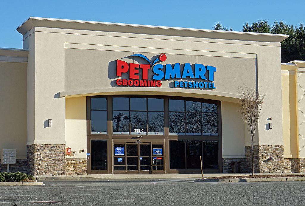 A PetSmart store in Yorba Linda, Calif.