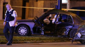 Police sergeant injured in South Side collision