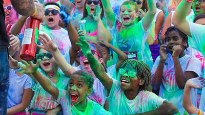 Color Fun Fest to Coca-Cola Park
