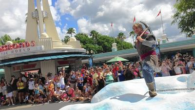 'Frozen' fest heating up Disney's Holly