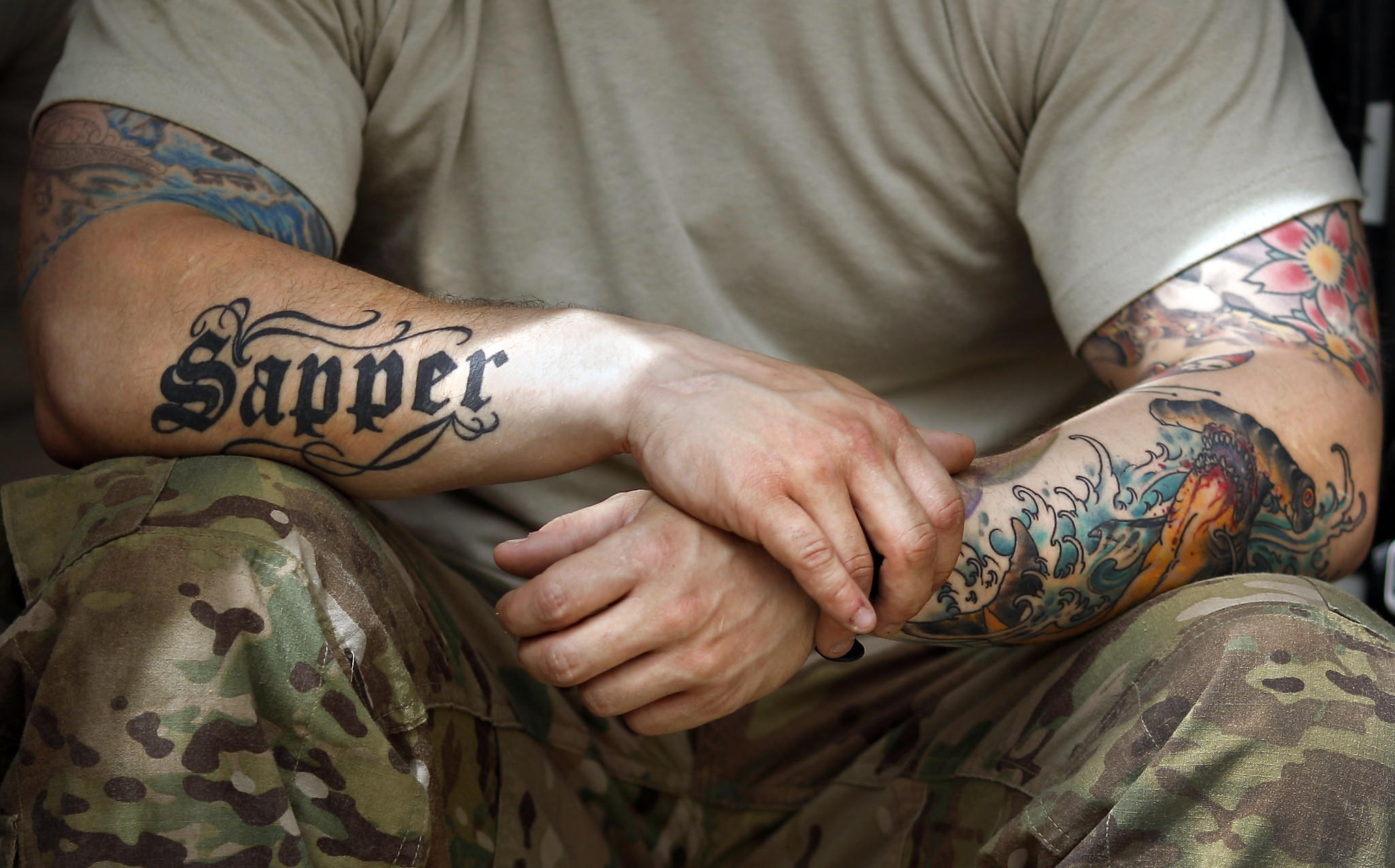 army recruiter tougher tattoo rules bring better