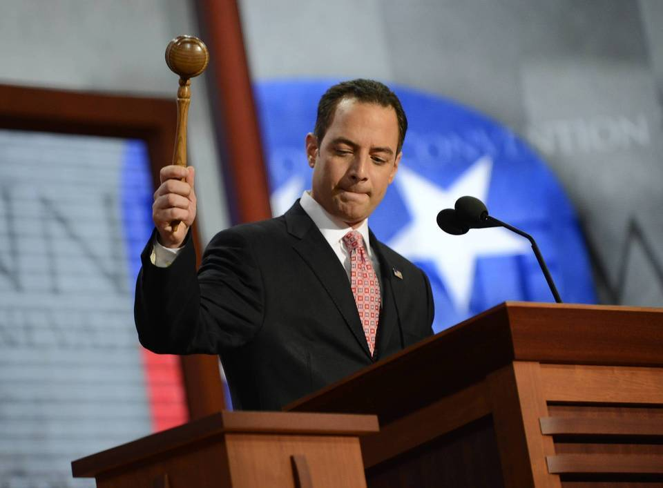 The Chairman of the Republican National Convention Reince Priebus wants to move the party's national convention earlier in the year.