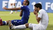 Suarez loses appeal against biting ban